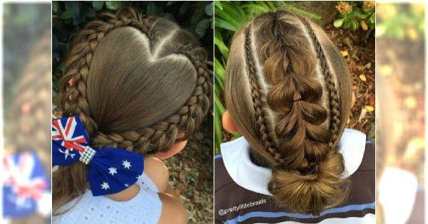 Ale plotą! 20 mistrzowskich fryzur z warkoczem dla dziewczynek