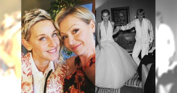Ellen DeGeneres i Portia de Rossi rozwodzą się! Zobaczcie zdjęcia najsłynniejszej pary lesbijek w Hollywood