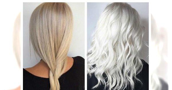 Jasny chłodny blond to HIT! Zobacz naszą galerię inspiracji