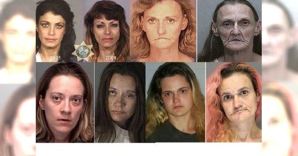 SZOK!!! Tak przez kilka lat zmieniły ich narkotyki