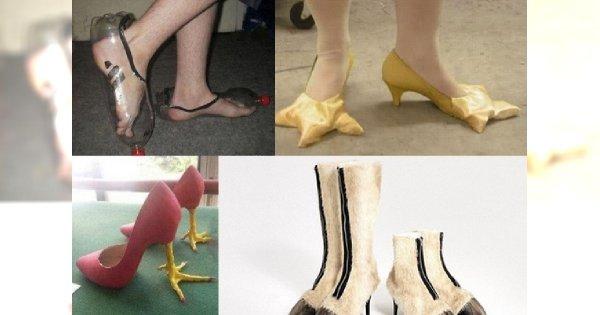 Fashion Fail! Najgorsze buty na świecie - czy ktoś je w ogóle nosi?