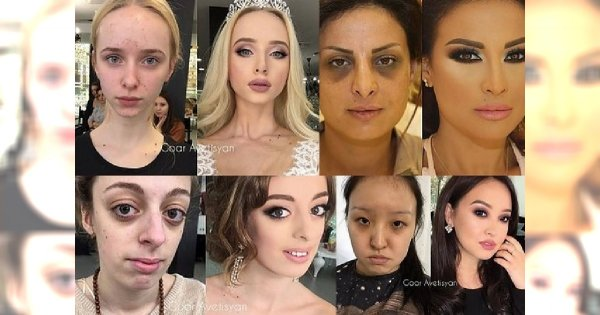 OMG! To nie metamorfozy, a TRANSFORMACJE! Zobacz, jaką ogromną, wręcz porażającą moc ma makijaż!