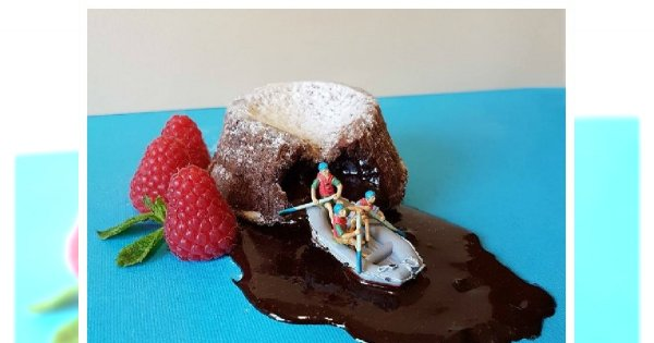 Małe dzieła sztuki, które można zjeść! Zobacz co robi ten artysta- pychota!