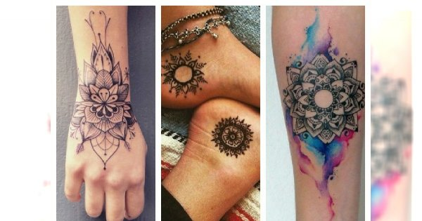 Mandala Tattoo Jest Na Czasie Bardzo Kobiecie Wzory