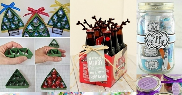 DIY: urocze upominki świąteczne, które zrobisz sama!