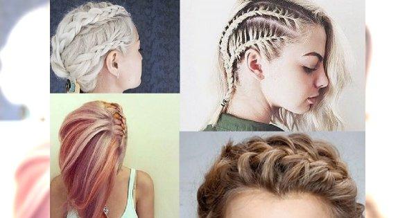 Urocze fryzurki z warkoczem na każdy dzień tygodnia dla włosów do ramion!