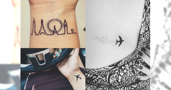 Piękne Tatuaże Dla Miłośniczek Podróży Galeria Charyzmatycznych I
