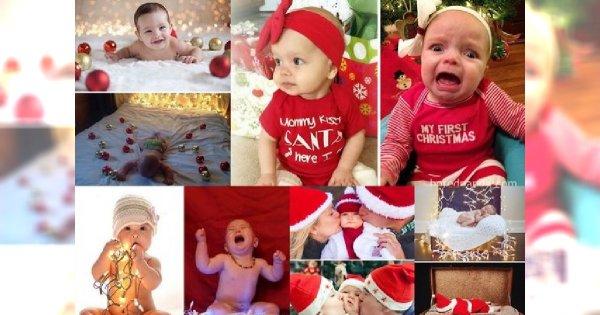 Chcieli zrobić swoim dzieciom świąteczne sesje zdjęciowe, ale coś poszło nie tak - inspiracje z sieci vs rzeczywistość