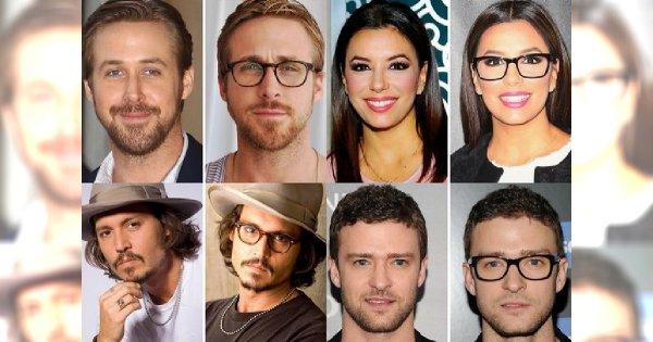 Te Gwiazdy Wyglądają Lepiej W Okularach Jednak Ryan Gosling