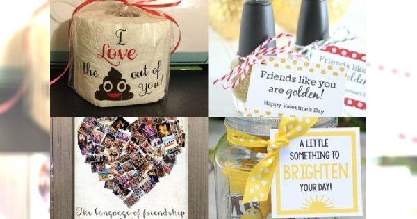 W Walentynki pamiętaj także o prezentach dla przyjaciół! Galeria nietuzinkowych inspiracji