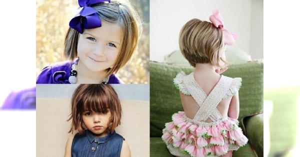 Uroczy SHORT BOB - fryzura idealna dla Twojej CÓRECZKI! Przegląd zdjęć najpiękniejszych cięć dla dziewczynek