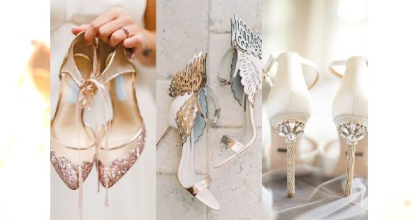 0424397c6ea2b WIELKI PRZEGLĄD: Najpiękniejsze buty ślubne na 2017 rok - płaskie i na  obcasie. 25 fantastycznych modeli