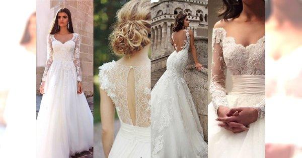 20 Najpiękniejszych sukien ślubnych z koronką. Oczaruj gości spektakularną kreacją i poczuj się jak księżniczka!