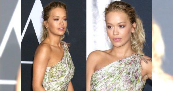 """Rita Ora w """"Greyu"""" zagrała epizodyczną rolę, ale tej sukni nie powstydziłaby się główna gwiazda!"""