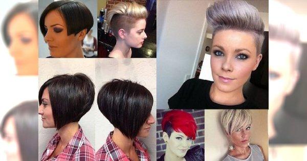 20 krótkich fryzur dla wymagających kobiet! Przegląd fryzjerskich trendów 2017!