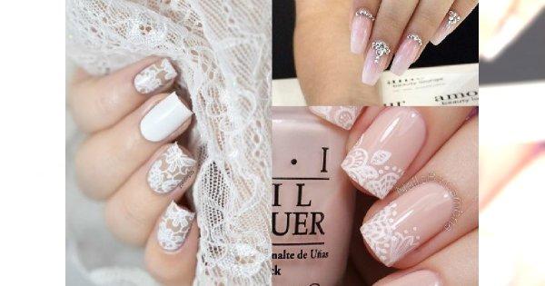 Ślubny manicure nie musi być nudny! Zobacz piękne i niestandardowe propozycje