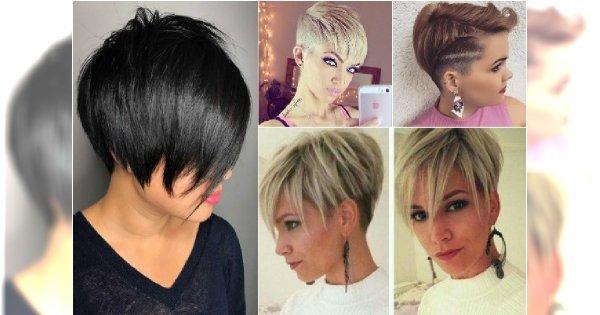 Krótkie fryzury z grzywką, asymetryczne, mocno wycieniowane. Odważycie się?