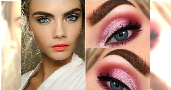 Wiosenny Makijaż Dla Niebieskich Oczu 20 Modnych Propozycji