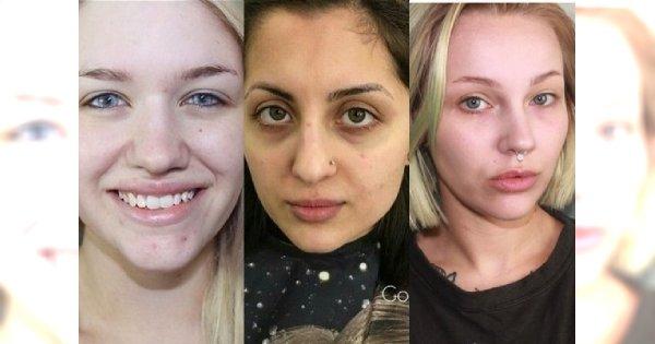 """WOW! Czy to naprawdę te same osoby? Zobacz zdjęcia ,,przed i po"""" kobiet w makijażu dobranym do ich urody"""