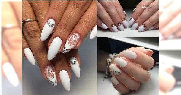 Białe Paznokcie 20 Pomysłów Na Modny Biały Manicure
