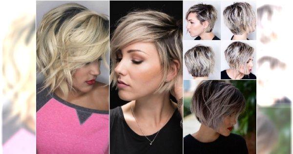 Cieniowane Fryzury Dla Włosów Za Ucho Urzekające Cięcia Które