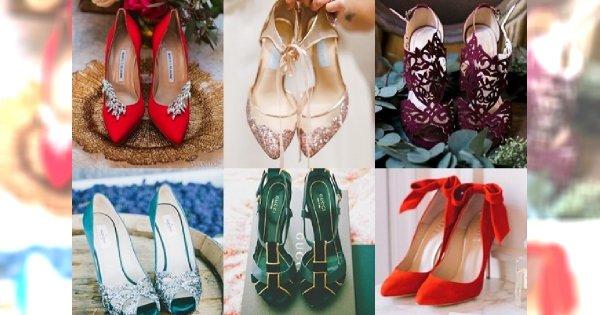 Przegląd najpiękniejszych butów ślubnych 2017 w kolorze - PRAWDZIWE PEREŁKI!