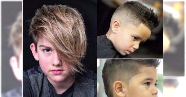 Fryzury dla chłopców - modne i eleganckie cięcia dla małych przystojniaków