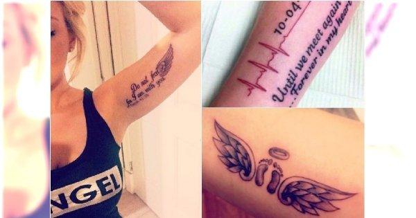 Tatuaże Dla Mam Aniołkowych Czy To Dobry Pomysł Zobaczcie Jakie