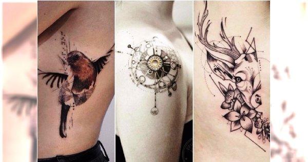 Nowoczesne Tatuaże Dla Kobiet Zaskakujące Wzory