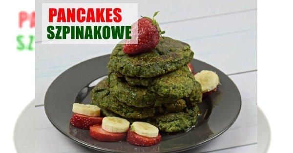 Przepyszne i lekkie pancakes szpinakowe z płatków owsianych