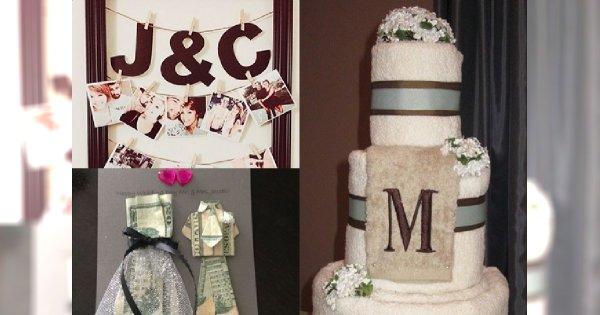 Kreatywne pomysły na prezenty ślubne, które zrobisz sama - zaskocz parę młodą!