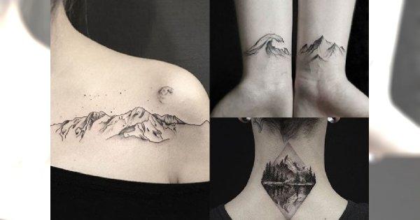 Intrygujące Tatuaże Dla Miłośniczek Gór Galeria Inspiracji Które