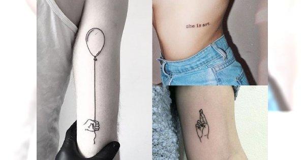 Minimalistyczne Tatuaże Ciekawe Nieoklepane Motywy Dla