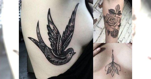 Kobiece i pełne wdzięku - modne wzory tatuażu, które pokochasz od pierwszego wejrzenia!