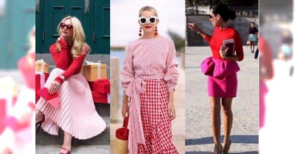 Moda 2018: Czerwień z różem to najmodniejsze połączenie! To niełatwe zestawienie, ale efekt POWALA