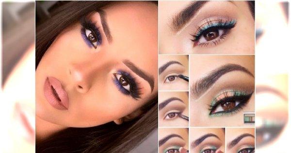 Kolorowy Makijaż Dla Ciemnych Oczu 20 Fantastycznych Propozycji Na