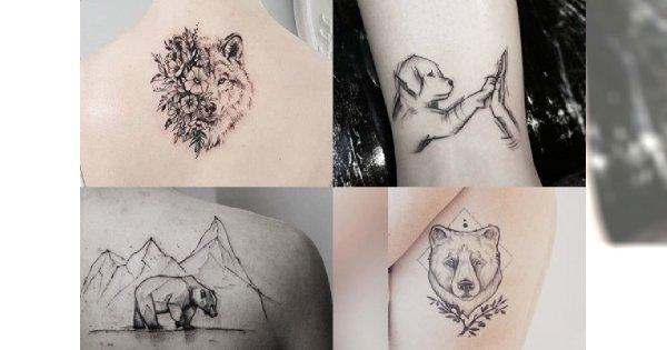 Zapierające Dech W Piersiach Tatuaże Z Motywem Zwierząt