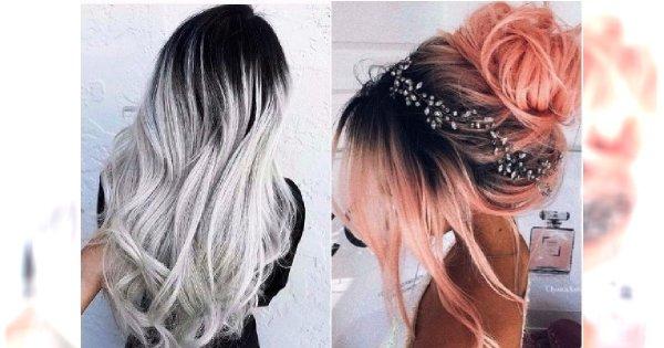 HOT TREND w koloryzacji włosów: CIEMNE ODROSTY. Przekonaj się, że mogą wyglądać pięknie!