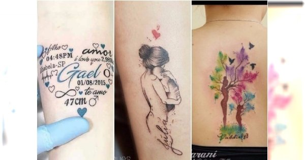 Mamy Pokazują Swoje Tatuaże Wzory Z Imieniem Dziecka To Nie