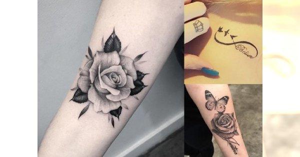 Tatuaże 2017/2018! Postaw na stylowy motyw, od którego nie można oderwać wzroku!