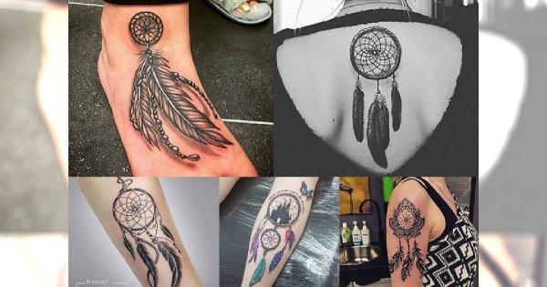 Dream catcher tattoos - najmodniejsze inspiracje na tatuaż, który robi furorę