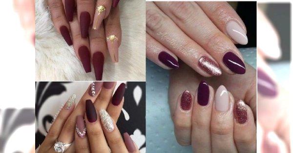 Manicure 2017: Bordo, róż i złoto. Idealne propozycje na listopadowy manicure