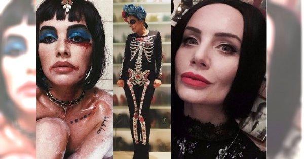 Gwiazdy pokazały przebrania na Halloween. Kto wyglądał... najstraszniej?