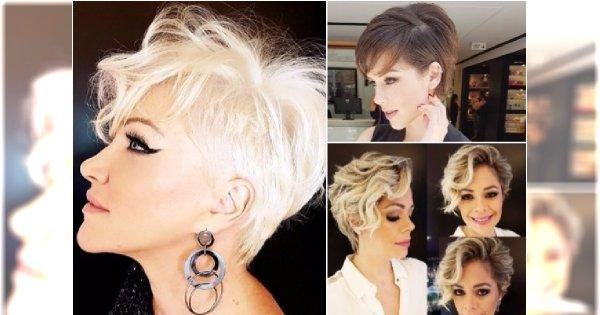 Krótkie Fryzury Dla Kobiet 40 Lat I Więcej Eleganckie