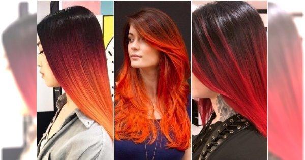 Włosy ombre w bajecznych odcieniach! 20 propozycji idealnych na zimę