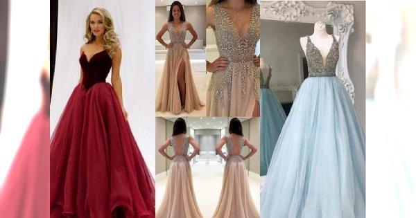 7471714567 Piękne suknie wieczorowe na bal sylwestrowy lub wesele zimą - obłędne  propozycje!