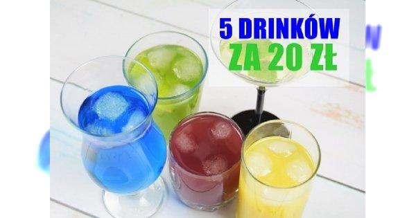 Andrzejkowy melanż za 2 dychy - przepisy na 5 drinków, za które łącznie zapłacisz 20 zł!