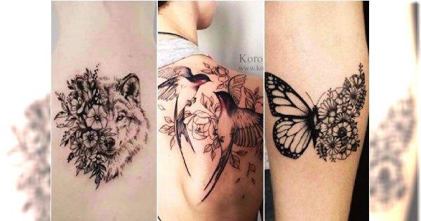 Tatuaże Ze Zwierzętami 25 Pięknych Wzorów Dla Kobiet