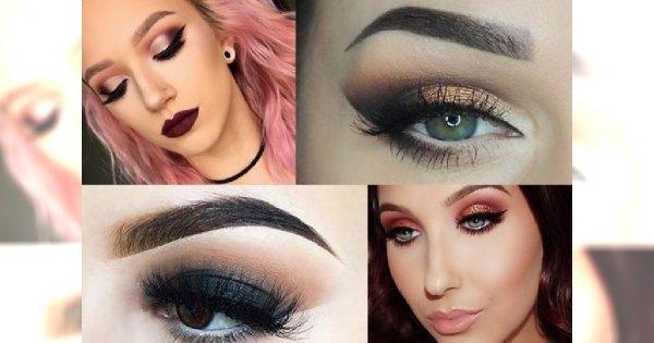 20 pomysłów na makijaż sylwestrowy - przeglądamy najnowsze kosmetyczne trendy!