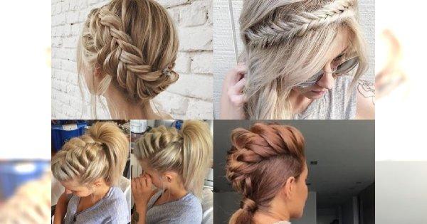Genialne fryzury z warkoczem, jakich jeszcze nie widziałyście!